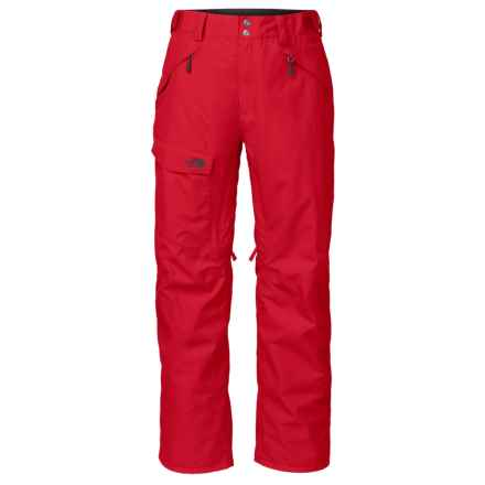 The North Face Freedom Ski Pants - Waterproof, Insulated (For Men) in Tnf Red - Closeouts