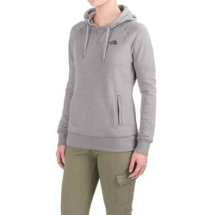 The North Face French Terry Hoodie (For Women) in Tnf Medium Grey Heather (Std) - Closeouts