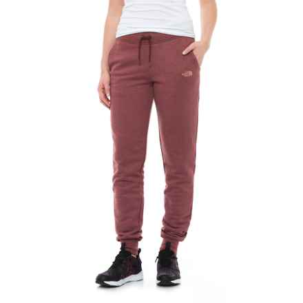 The North Face French Terry Pants (For Women) in Barrel Red Heather - Closeouts