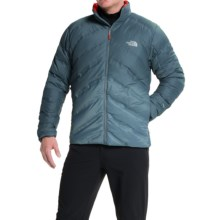 The North Face FuseForm Dot Matrix Down Jacket - 700 Fill Power (For Men) in Conquer Blue Tri Matrix - Closeouts