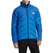The North Face FuseForm Dot Matrix Down Jacket - 700 Fill Power (For Men) in Monster Blue Tri Matrix - Closeouts