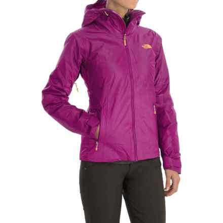 The North Face FuseForm Dot Matrix Jacket - Insulated (For Women) in Dramatic Plum Tri Matrix - Closeouts