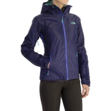 The North Face FuseForm Dot Matrix Jacket - Insulated (For Women) in Garnet Purple Tri Matrix - Closeouts