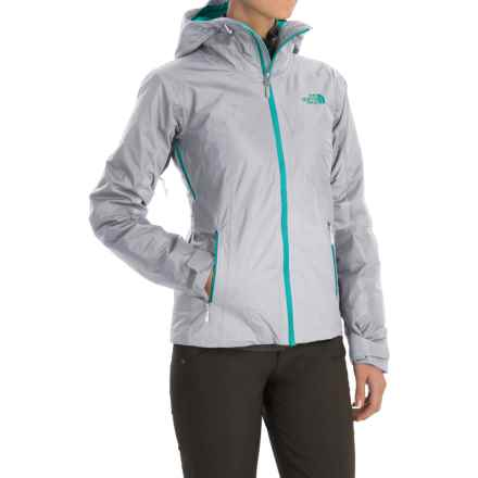 The North Face FuseForm Dot Matrix Jacket - Insulated (For Women) in High Rise Grey Tri Matrix - Closeouts
