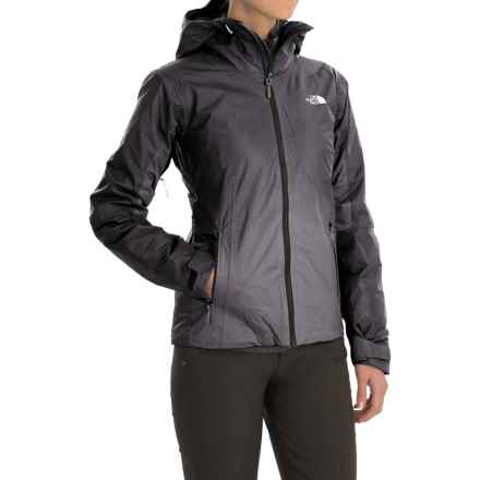 The North Face FuseForm Dot Matrix Jacket - Insulated (For Women) in Tnf Black Tri Matrix - Closeouts