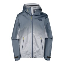 The North Face Fuseform Dot Matrix Rain Jacket - Waterproof (For Men) in China Blue Dot Matrix - Closeouts