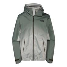 The North Face Fuseform Dot Matrix Rain Jacket - Waterproof (For Men) in Noah Green Dot Matrix - Closeouts