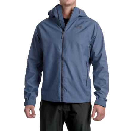 The North Face Fuseform Montro Jacket - Waterproof (For Men) in Shady Blue Fuse - Closeouts