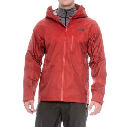 The North Face FuseForm® Progressor Gore-Tex® Jacket - Waterproof (For Men) in Cardinal Red Fuse - Closeouts