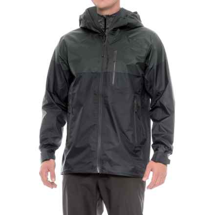 The North Face FuseForm® Progressor Gore-Tex® Jacket - Waterproof (For Men) in Tnf Black Fuse - Closeouts