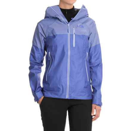 The North Face FuseForm® Progressor Shell Gore-Tex® Rain Jacket - Waterproof (For Women) in Amparo Blue Fuse - Closeouts