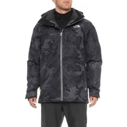 The North Face Garner Triclimate® Jacket - Waterproof, Insulated, 3-in-1 (For Men) in Asphalt Grey Woodchip Camo Print - Closeouts