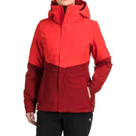 The North Face Garner Triclimate ®Jacket - Waterproof, Insulated, 3-in-1 (For Women) in High Risk Red/Biking Red - Closeouts