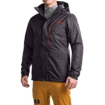 The North Face Gatekeeper Ski Jacket - Waterproof, Insulated (For Men) in Asphalt Grey - Closeouts