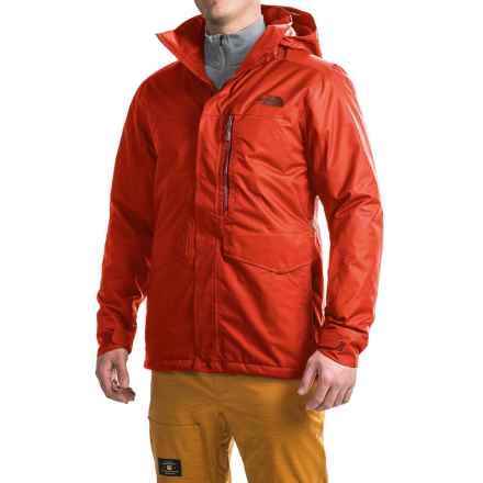 The North Face Gatekeeper Ski Jacket - Waterproof, Insulated (For Men) in Fiery Red - Closeouts