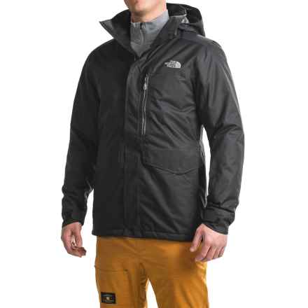 The North Face Gatekeeper Ski Jacket - Waterproof, Insulated (For Men) in Tnf Black - Closeouts