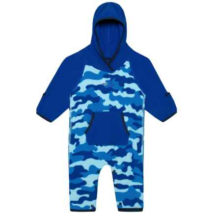 7568afcb58beb The North Face Glacier Baby Bodysuit (For Infants) in Sky Blue Classic/Camo