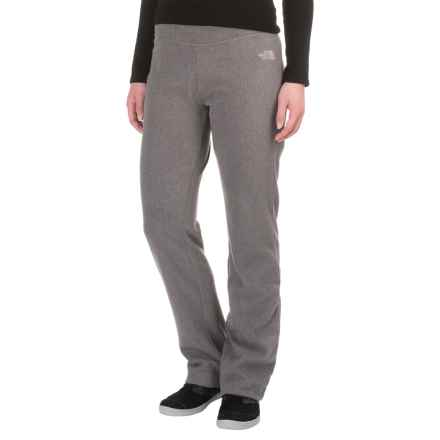 The North Face Glacier Fleece Pants (For Women) in Rabbit Grey Heather - Closeouts
