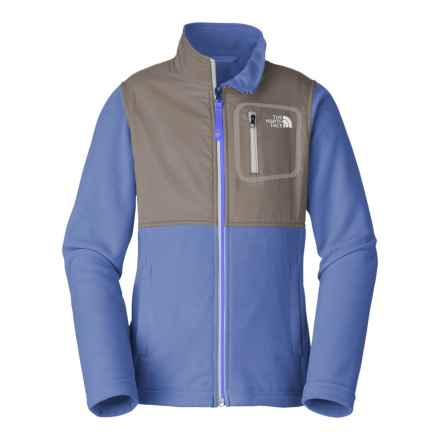 The North Face Glacier Track Jacket (For Little and Big Girls) in Grapemist Blue - Closeouts