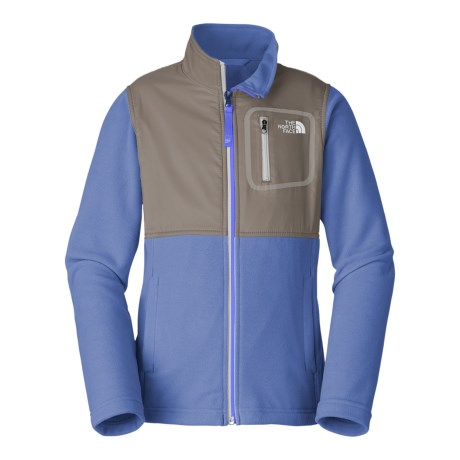 The North Face Glacier Track Jacket (For Little and Big Girls) in Grapemist Blue