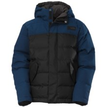 The North Face Glendon Down Jacket (For Little and Big Boys) in Monster Blue - Closeouts