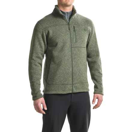 The North Face Gordon Lyons Fleece Jacket - Full Zip (For Men) in Climbing Ivy Green Heather - Closeouts