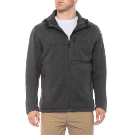 The North Face Gordon Lyons Hoodie (For Men) in Tnf Black Heather - Closeouts
