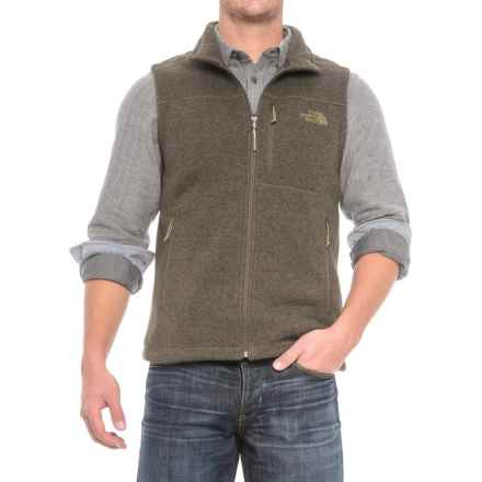 The North Face Gordon Lyons Vest (For Men) in New Taupe Green Heather - Closeouts