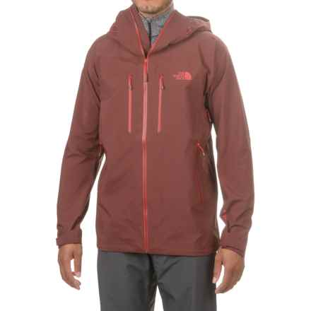 The North Face Gore-Tex® Pro Dihedral Hooded Jacket - Waterproof (For Men) in Sequoia Red/Sequoia Red - Closeouts