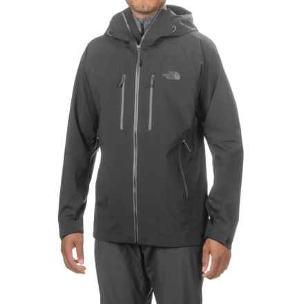The North Face Gore-Tex® Pro Dihedral Hooded Jacket - Waterproof (For Men) in Tnf Black/Tnf Black - Closeouts