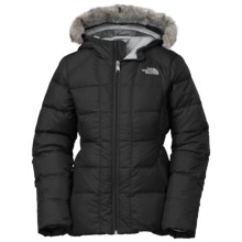 The North Face Gotham Down Jacket - 550 Fill Power (For Little and Big Girls) in Tnf Black - Closeouts