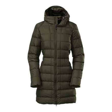 The North Face Gotham Down Parka - 550 Fill Power (For Women) in Forest Night Green - Closeouts