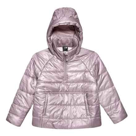The North Face Gotham Reversible Jacket (For GIRLS) in Quail Grey - Closeouts