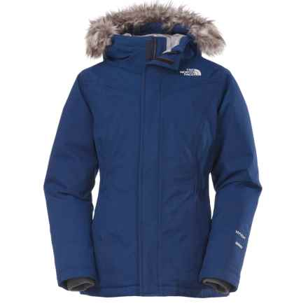 The North Face Greenland Down Parka (For Little and Big Girls) in Cosmic Blue - Closeouts