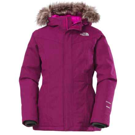 The North Face Greenland Down Parka (For Little and Big Girls) in Luminous Pink - Closeouts