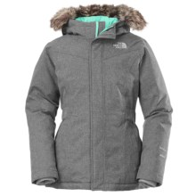 The North Face Greenland Down Parka (For Little and Big Girls) in Metallic Silver - Closeouts