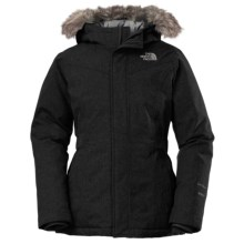 The North Face Greenland Down Parka (For Little and Big Girls) in Tnf Black - Closeouts