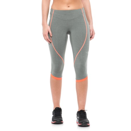 The North Face GTD Capris (For Women) in Sedona Sage Heather/Fiery Coral