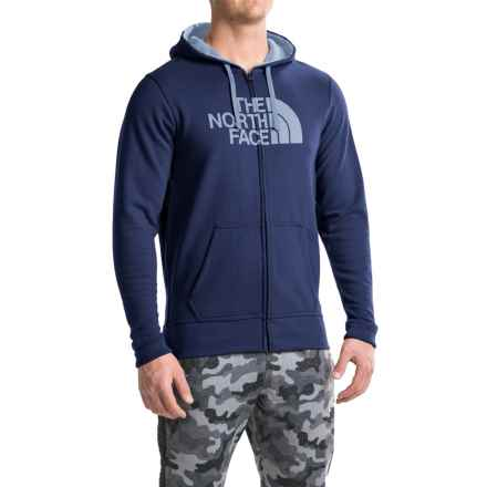 The North Face Half Dome Hoodie (For Men) in Cosmic Blue Light Heather (Std)/Worn Blue - Closeouts