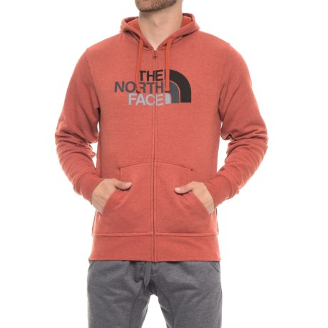 The North Face Half Dome Hoodie (For Men) in Ketchup Red Heather/Asphalt Grey Multi