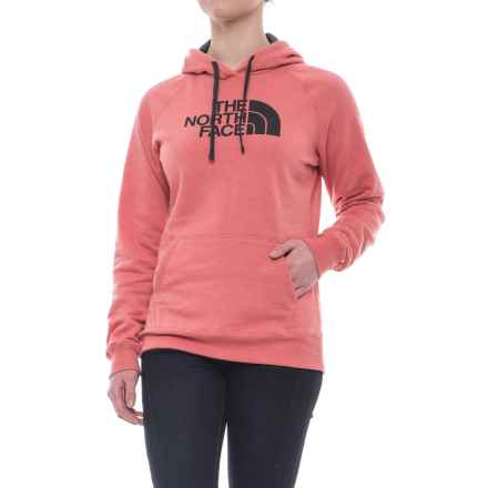 The North Face Half Dome Hoodie (For Women) in Faded Rose Heather/Asphalt Grey - Closeouts