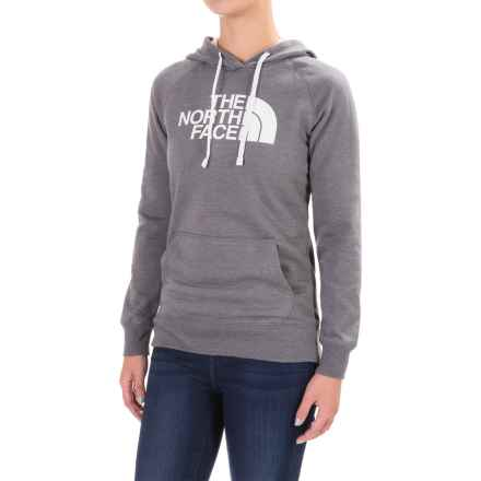 The North Face Half Dome Hoodie (For Women) in Tnf Medium Grey Heather (Std)/Tnf White - Closeouts