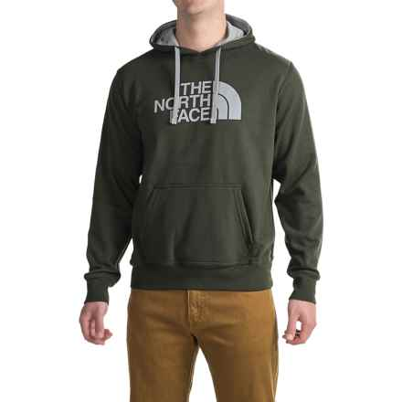 The North Face Half Dome Pullover Hoodie (For Men) in Rosin Green/Mid Grey - Closeouts