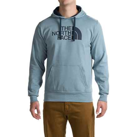 The North Face Half Dome Pullover Hoodie (For Men) in Worn Blue/Cosmic Blue - Closeouts