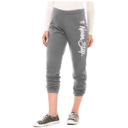 The North Face Half Dome Sweatpants (For Women) in Tnf Medium Grey Heather - Closeouts