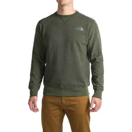 The North Face Half Dome Sweatshirt (For Men) in Climbing Ivy Green Dark Heather (Std)/Duck Green - Closeouts