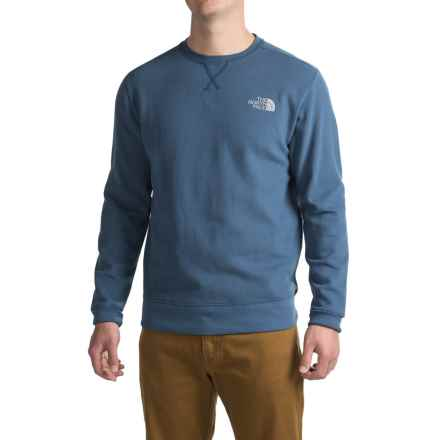 The North Face Half Dome Sweatshirt (For Men) in Shady Blue/Mid Grey - Closeouts