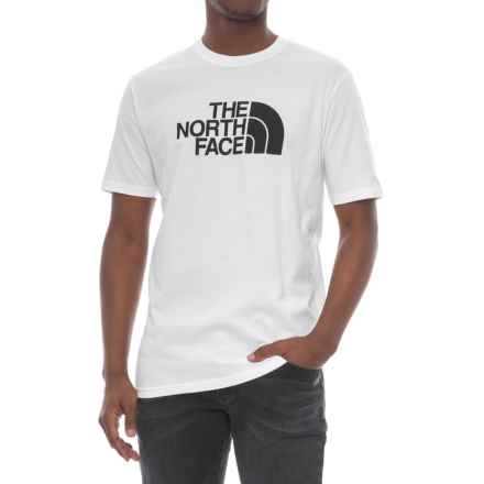 The North Face Half Dome T-Shirt - Short Sleeve (For Men) in Tnf White/Tnf Black - Closeouts