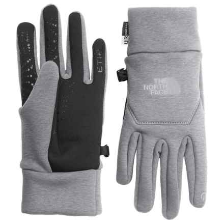 The North Face Hardface Etip® Gloves (For Women) in High Rise Grey - Closeouts