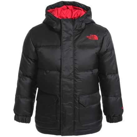 The North Face Harlan Down Parka - 550 Fill Power (For Toddler Boys) in Tnf Black - Closeouts